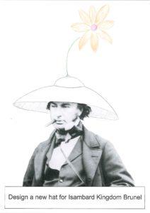 Design & Colour - Brunel's hat 1