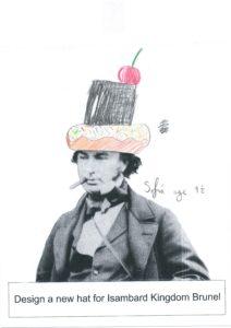 Design & Colour - Brunel's hat 2
