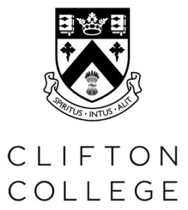 Clifton College logo - light the night sponsor - Crowdfunder - Light the Bridge blue